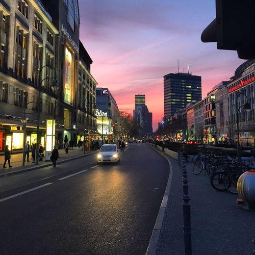 Stadtsonnenuntergang. First Eyeem Photo