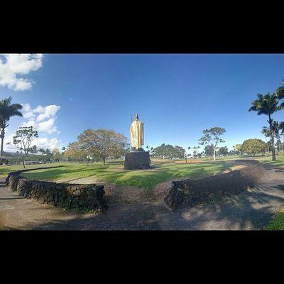 Follow the King... I stand behind my hawaii.. King Kamehameha Native Hawaiian Hilo  Hawaii My_home Islandgirl Islandlife 808love Bigislandlove Beautifulxhi Islandlife Instahi Instapict