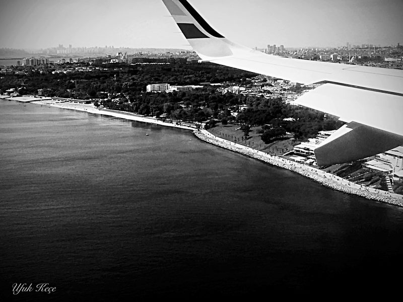 Travel Airplane Sky Aerial View Sea Fromairplaneistanbul Fromskyistanbul Photographer Enjoyinglife  Marmarasea Capture Myobjective Open Edit NiceShot Amazing Flying