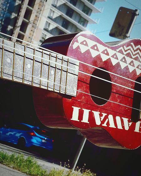 Ukulele Outdoors Architecture Wheredowegofromhere Musical Instrument String Music Is My Life Sunlight You Decide Summergefühle