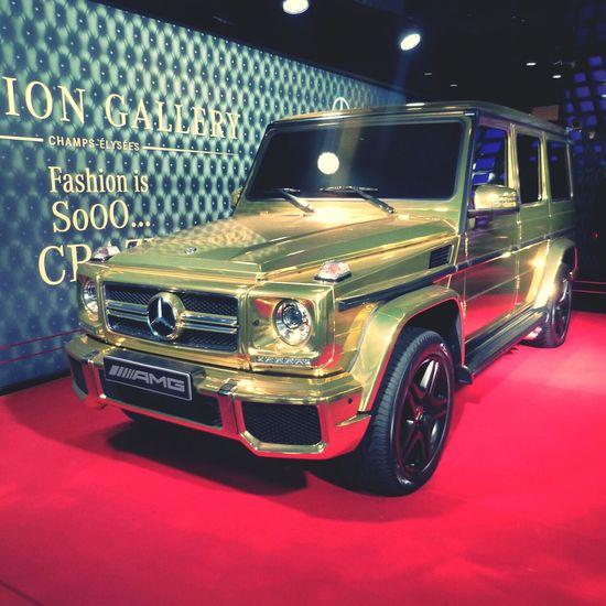 Car Mercedes Gold Dream