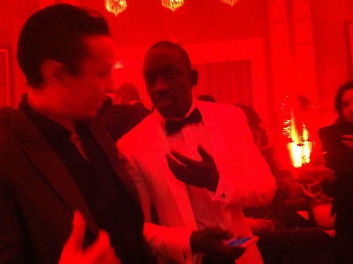 With Akon :)