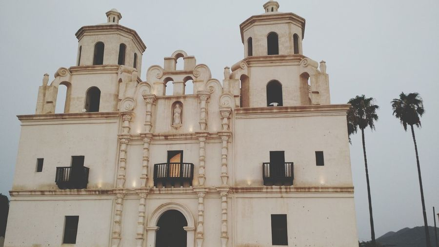 Church (Sonora, México). EyeEmNewHere Town Town Church Church Mexico Sonora Spirituality History Historical Historical Building Architecture Building Exterior Built Structure Sky