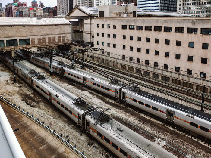 rail yard. Building Exterior City Life Mode Of Transport Public Transportation Rail Transportation Rail Yard Railroad Track Train Train - Vehicle Transportation