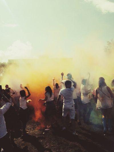 Where Do You Swarm? Holione Colour Festival Manchester