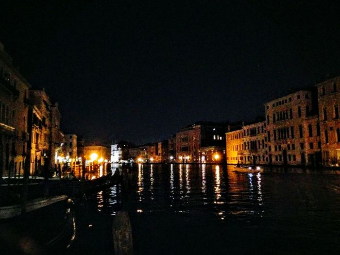 Venice At Night Venice Italy Canals