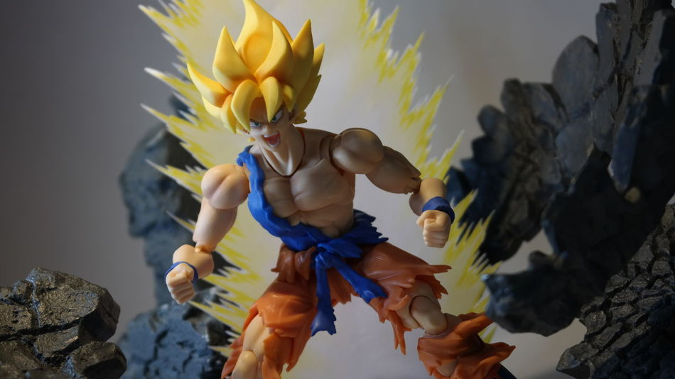 ARGHHH!!! Songoku Dragonballz DBZ Supersaiyan Kamehameha SHfiguarts Figuarts BANDAI Tamashiinations Toyphotography ACBA Acbafam Articulatedcomicbookart Anime Bishoujoheaven