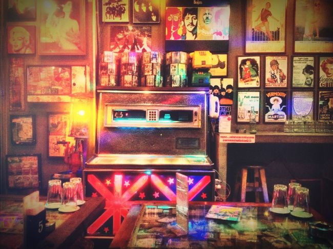 Bar Retro Jukebox Thailand Ngamwongwan