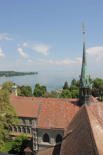 Boat Bodensee Church Constance Deutschland Germany Konstanz Lake Outdoors Perspective Tourism Tree Water First Eyeem Photo