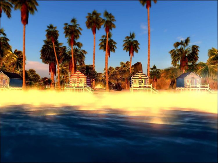 💭True we choose our hell.🔥 we also can be fused into anothers #hell real easy. By family, dating, friends, e-social. ☝️We have to monitor our minds and daily social. Summer Ending No People Beach Secondlife