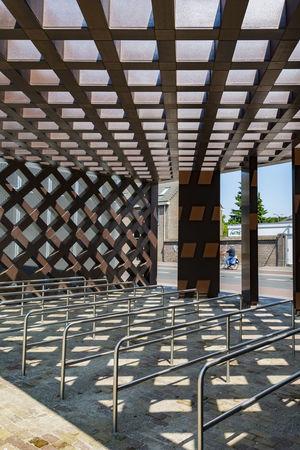 Architecture Built Structure Day De Pont Grid Lines No People Structures & Lines Symmetrical Symmetry