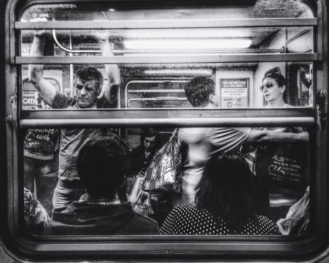 Underground life | iPhone 6S | Snapseed//PicFx Youmobile Grryo Blackandwhite Shootermag Notes From The Underground Undergroundphotography