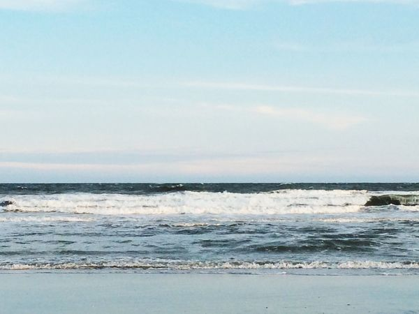 Beautiful evening at the beach First Eyeem Photo