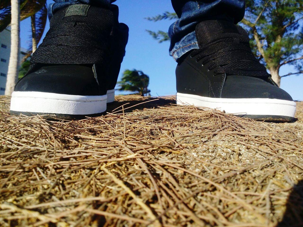 Close-Up Of Footwear