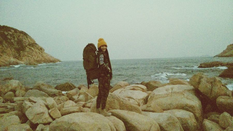 Beach Sunshine Backpacker