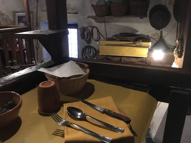 Close-up Cooking Utensil Day Domestic Kitchen Domestic Room Food Food And Drink Fork Indoors  Kitchen No People Plate Table