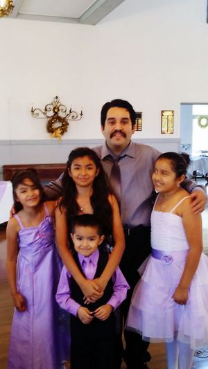 Uncle with his nieces and nephew Uncle Nieces Nephew  Wedding Photography Wedding Day Purple Wedding Hall Palmetto Florida Growing Up Too Fast  Beautiful Girls  Handsome Guys