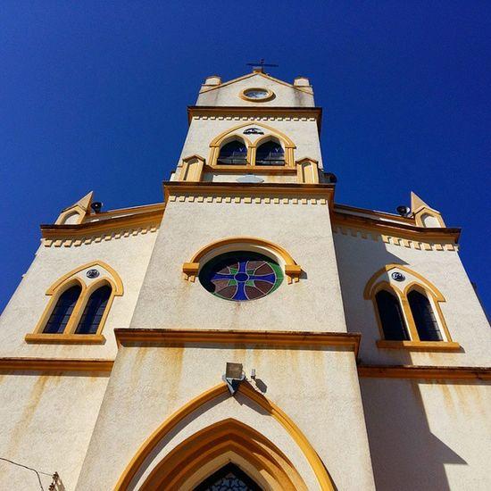 Church Restinga Restingasp Passeiofrancarestinga Sky Skyblue Igreja Fachada Galaxya5 SamsungGalaxyA5 Magnifier Samsungpicture Beautiful Praça