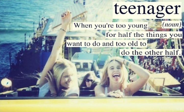 Teenager Sweet Being Fabulous Quadrofabulous
