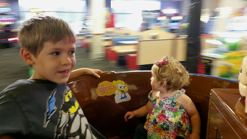 Never Too Old  to Ride the TeaCupRide with your Baby Sister! Meltingmyheart Childhood Oldest And Youngest. Siblings ChuckECheese Family Family Time My Loves WinnerWinnerChickenDinner Spinning Around Enjoying Life Enjoying The Moment Good Stuff  Sioux Falls Sioux Falls, South Dakota