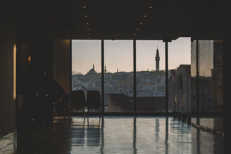 Absence Architecture Architecture Canon Canonphotography Chair Empty Engineering From My Point Of View Glass Glass - Material Home Interior Indoors  Interior Interior Design Istanbul Istanbuldayasam Light Mosque Open Transparent View VSCO Vscofilm Window