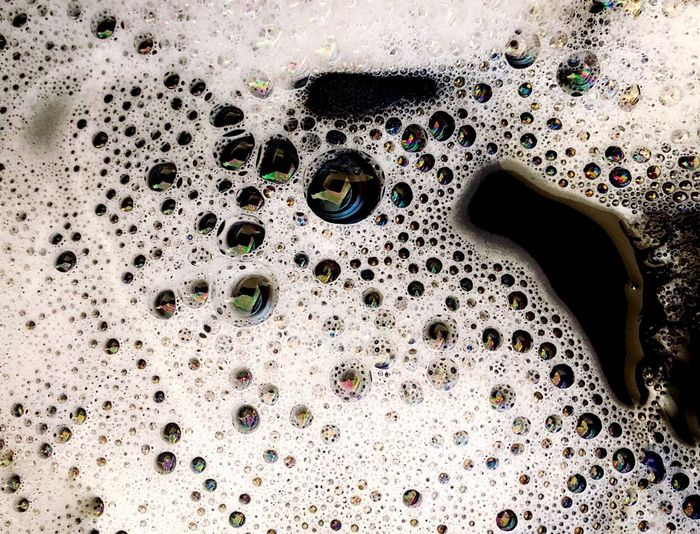 Bubbles in my washing machine Soap Sud Indoors  Sink Hygiene Washing Domestic Room Beauty No People Water Close-up Day EyeEmNewHere Visual Creativity The Creative - 2018 EyeEm Awards Capture Tomorrow