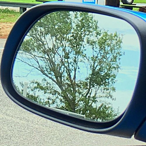 Rearviewmirror Just One Of Those Days  It's Going To Rain 💦💦💦 Again!