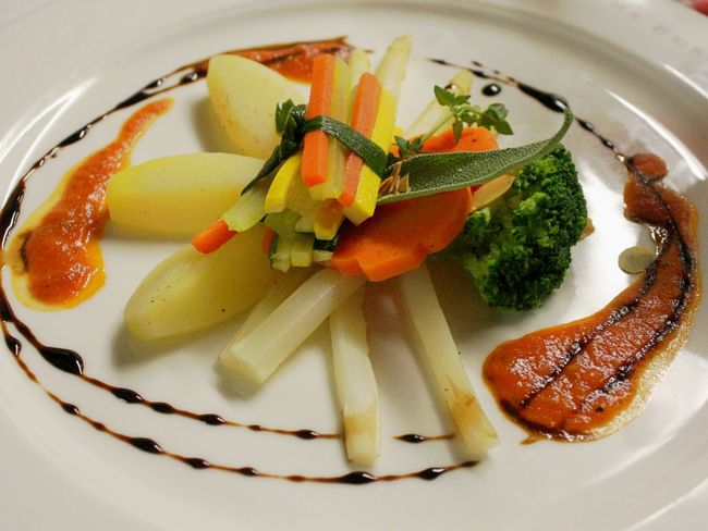 Vegetarian Dish Close-up Food Food And Drink Freshness Healthy Eating Indoors  No People Plate Ready-to-eat Star Kitchen Vegetable