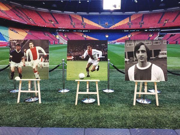 Holland Legend Soccer Cruijff Johan Cruijff Arena Amsterdam Ajax ElSalvador  Your Amsterdam