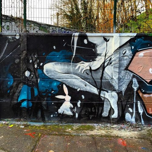 Graffiti Streetart Orsay Lwa