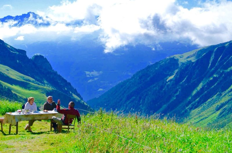 Breakfast in the heights of Mont Blanc. Mint By Motorola RePicture Travel Share Your Adventure The Traveler - 2015 EyeEm Awards