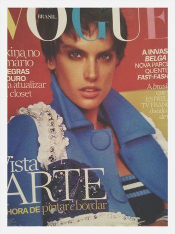 art Vogue Magazine Voguebrasil Vogue Cover Vogue