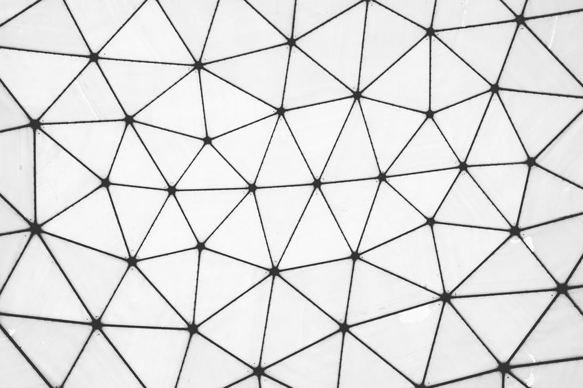 Iwantthatcamera Background Mesh Blckandwhite Geometricpattern Urbangeometry Linesandangles Abstractshapes Myfuckingberlin Network Abandonedplaces Radar Backgrounds Seamless Pattern Full Frame Pattern Abstract Triangle Shape Shape Close-up Crisscross Wire Mesh Hexagon Grid Geometric Shape Repetition Geometry