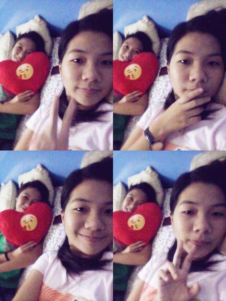 My Cousin EyeEm Selfie ♥ First Eyeem Photo Sleepover! Thisepicnightwithher EyeemPhilippines