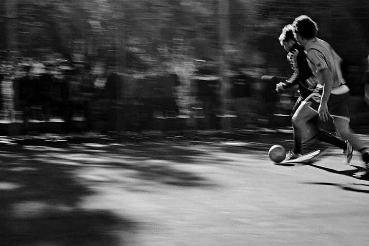 Urban Sports Black & White Football Match Football Sport Open Edit