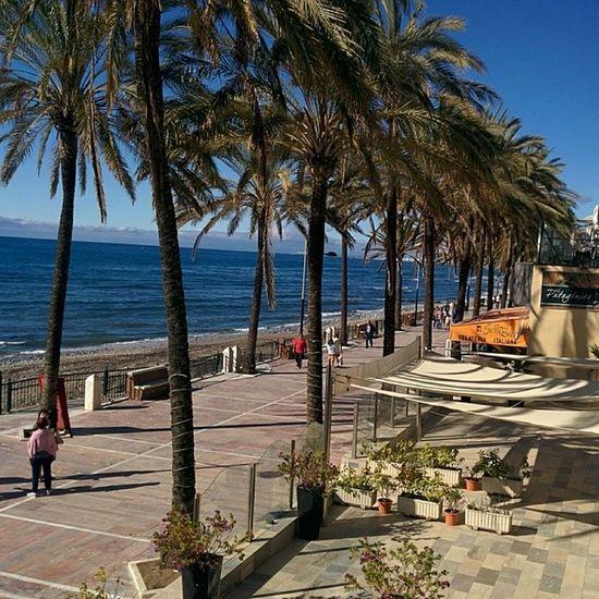 Marbella paseo marítimo / rantakatu