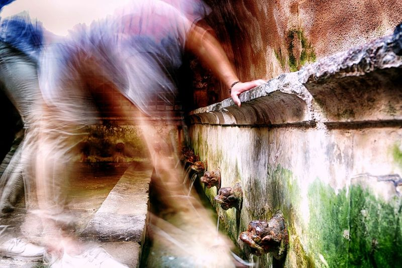 Motion Water Waterfall Flowing Outdoors Standing Water The Way Forward Tranquility StreetActivity City Life Streetphotography Sicilia Sicily Traditional Ancient Old Streetphoto EyeEm Best Shots Decayed Beauty TakeoverContrast Longexposhots cefalu may 2016