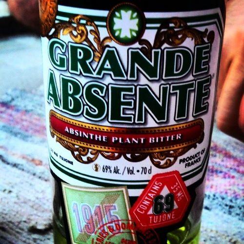 Grande Absente %69alc. Rakıdan büyük var usta