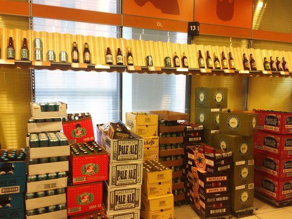 Booze Alcohol Bottle Sale Supermarket Sweden Boxes Drinking Drinks Stockholm Shop Ale Beer Wine Liquor