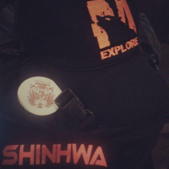 I've finally received my (second) M-Wolf cap and Shinhwa mask! Woohhoot! Shinhwa 신화 Autofollowback