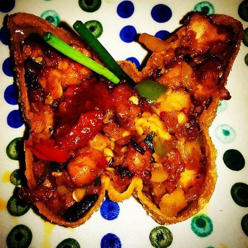 Butterfly Butterflychicken Tasty Yummm  Mobar Indiranagar Foodporn Nexus5photography