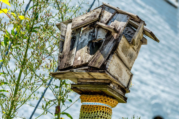 Fixer-upper for sale. Cheep! Cheep! Check This Out Taking Photos Relaxing Enjoying Life Hello World Birdhouse Birdhome Nopeople Nikon Nikonphotography Decay_nation Decaying Eyeemphotography EyeEm Best Shots Architecture Architecture_collection