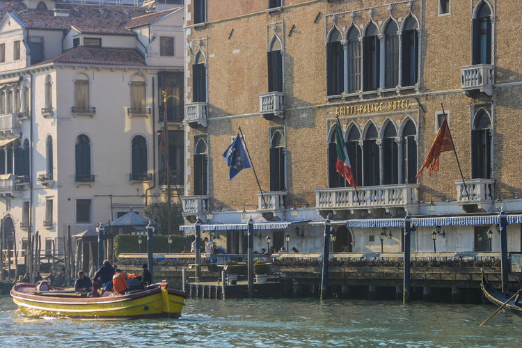 Transportation Venedig, Ohne Touristen, Lagune, Frühling, Venice, WithoutTourists, Springtime, City, Sea, Water, Historical, Old Town Architecture Outdoors Water