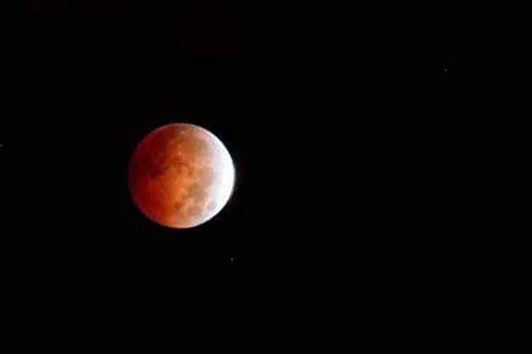 Bloodmoon2014 Moon Bloodmoon Red Stellar Night Photography