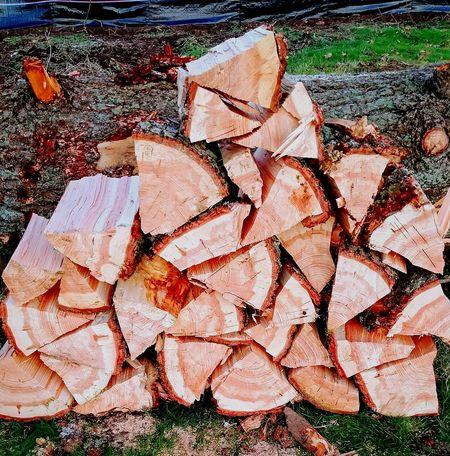 Choppin' Outdoors Firewood Stack Stack Fir Split Wood