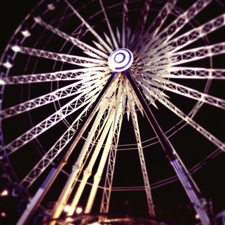 Evening photography captured Liverpool Ferris Wheel Illuminated Close-up Night Outdoors No People Liverpool, England AlbertDocks Capture The Moment December 2016 Sky EyeEmNewHere