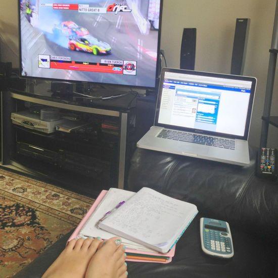 Car Nails Doing Homework Drifting