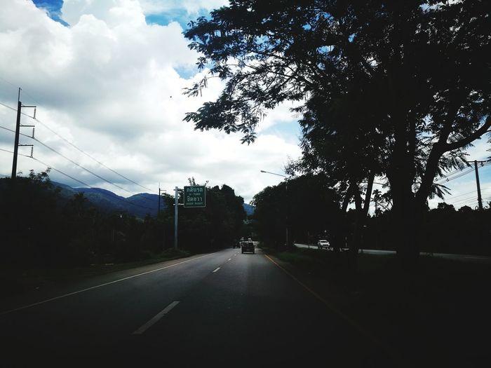 Tree Road Cloud