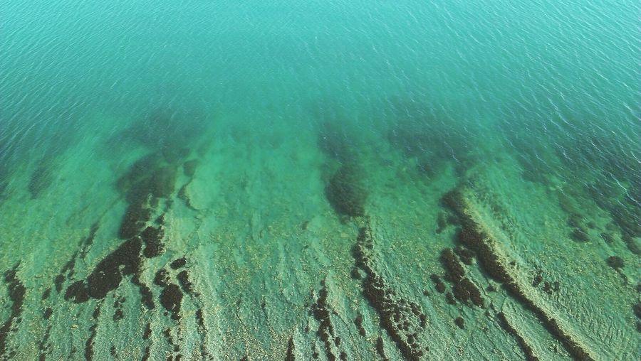 Full frame shot of water surface