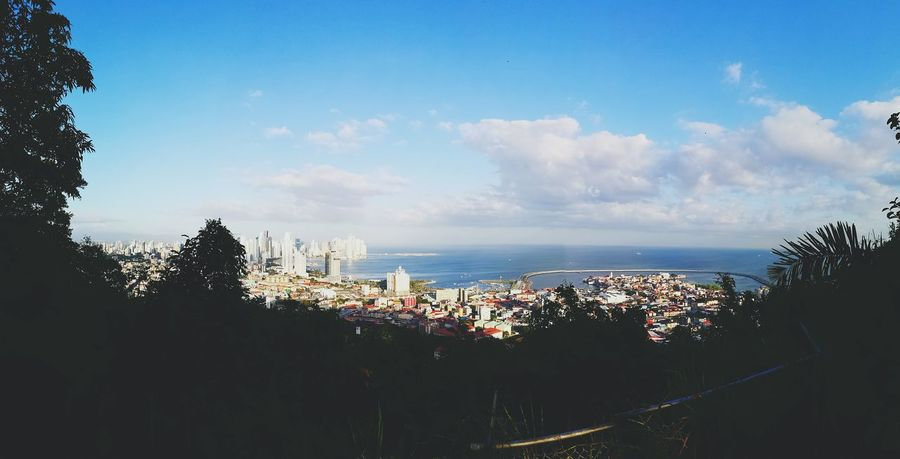 Panama City Urban Landscape City Sky Urban Skyline Simply Beautiful Freedom Architecture Ocean View Ancon Hill Cityscape Vintage Photo Travel Destinations